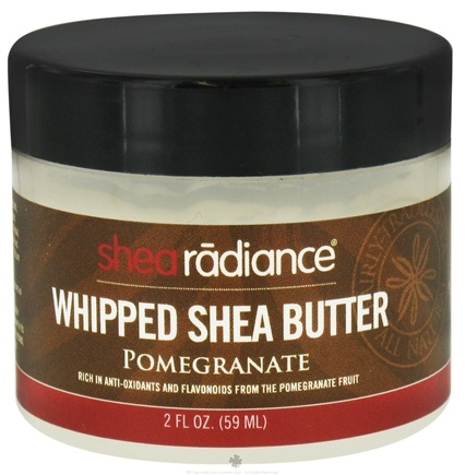 DROPPED: Shea Radiance - Whipped Shea Butter Pomegranate - 2 oz. CLEARANCE PRICED