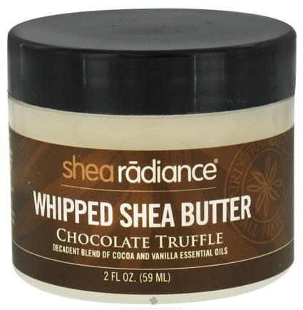 DROPPED: Shea Radiance - Whipped Shea Butter Chocolate Truffle - 2 oz. CLEARANCE PRICED