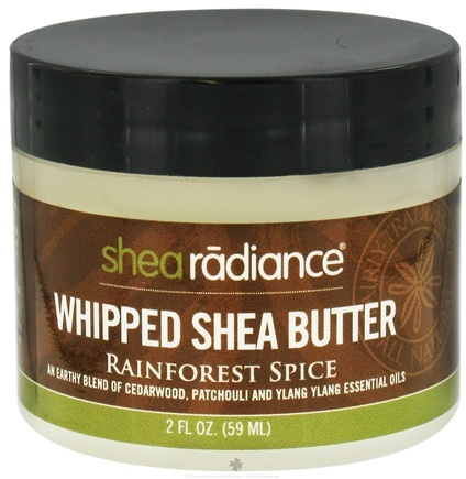 DROPPED: Shea Radiance - Whipped Shea Butter Rainforest Spice - 2 oz. CLEARANCE PRICED