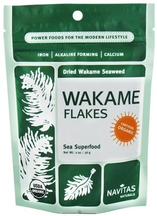 DROPPED: Navitas Naturals - Wakame Flakes - 2 oz. CLEARANCE PRICED