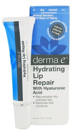 DROPPED: Derma-E - Hydrating Lip Repair With Hyaluronic - 0.5 oz. CLEARANCE PRICED