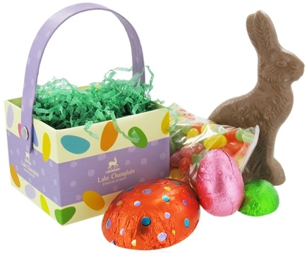 DROPPED: Lake Champlain Chocolates - All Natural Easter Bunny Hop Basket - 11 oz.
