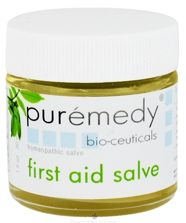 DROPPED: Puremedy - First Aid Salve Homeopathic Salve - 1 oz. CLEARANCE PRICED