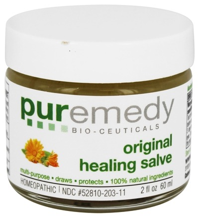 Puremedy - Original Healing Salve - 2 oz. Formerly Infection Free Homeopathic Salve