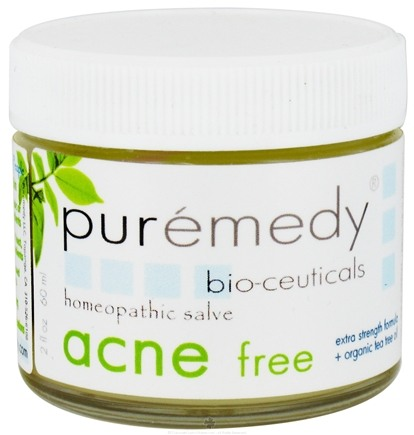 DROPPED: Puremedy - Acne Free Formula Homeopathic Salve - 2 oz.