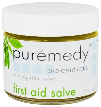 DROPPED: Puremedy - First Aid Salve Homeopathic Salve - 2 oz.