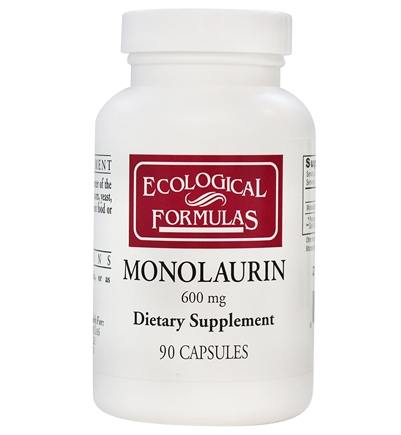 Ecological Formulas - Monolaurin 600 mg. - 90 Capsules (Formerly Cardiovascular Research)