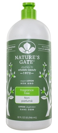 Nature's Gate - Lotion Moisturizing Fragrance-Free - 32 oz.