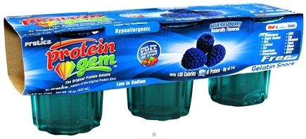 Zoom View - Protein Gem Gelatin Snack 3 Pack