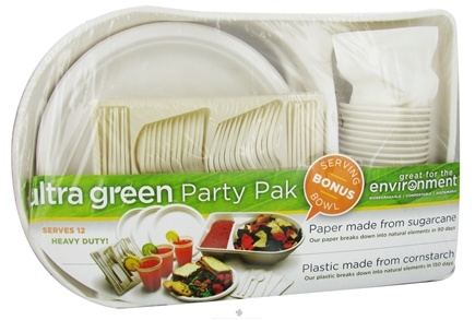 DROPPED: Ultra Green - Premium Picnic and Party Pack For 12