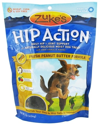 DROPPED: Zuke's - Hip Action Dog Treats Peanut Butter Formula - 16 oz.