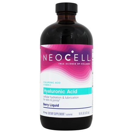 NeoCell - Hyaluronic Acid Blueberry Liquid 50 mg. - 16 oz.