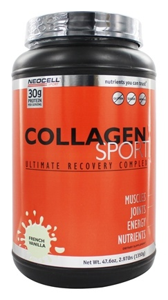 NeoCell - Collagen Sport Ultimate Recovery Complex French Vanilla - 2.97 lbs.
