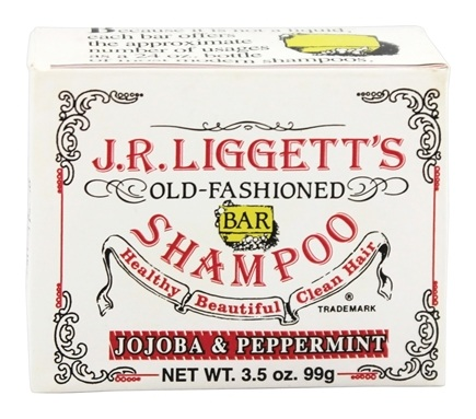 JR Liggett's - Old-Fashioned Shampoo Bar Jojoba and Peppermint - 3.5 oz.