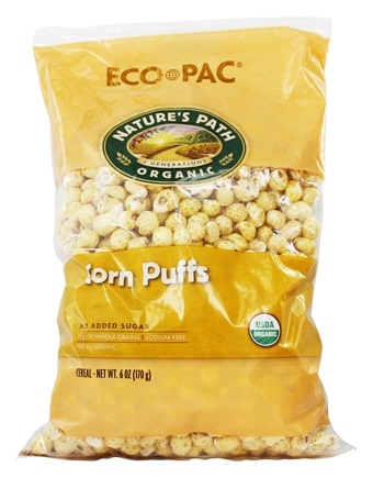 DROPPED: Nature's Path Organic - Cereal Corn Puffs - 6 oz.