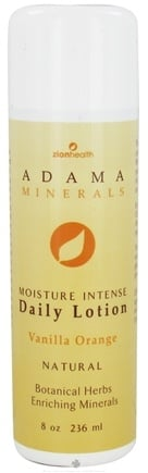 Zoom View - Adama Minerals Moisture Intense Daily Lotion