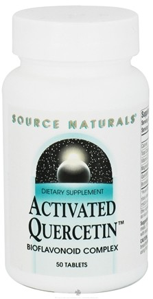 DROPPED: Source Naturals - Activated Quercetin Bioflavonoid Complex - 50 Tablet(s) CLEARANCE PRICED