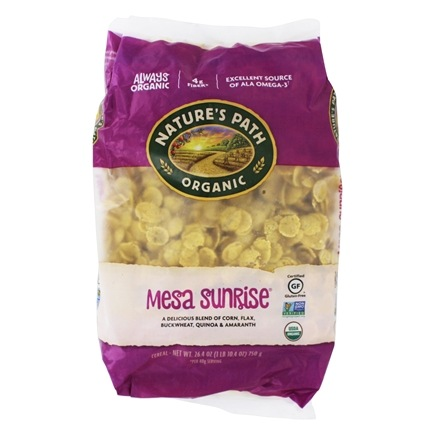Nature's Path Organic - Cereal Mesa Sunrise Gluten-Free Resealable Eco Pac - 26.5 oz.