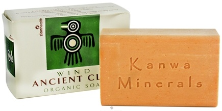 DROPPED: Zion Health - Ancient Clay Organic Bar Soap Wind - 6 oz.