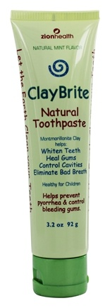 Zoom View - ClayBrite Natural Toothpaste