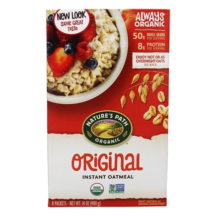 Zoom View - Instant Hot Oatmeal 8 x 50g Packets