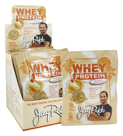 Jay Robb - Whey Protein Isolate Powder Tropical Dreamsicle - 12 Packet(s)