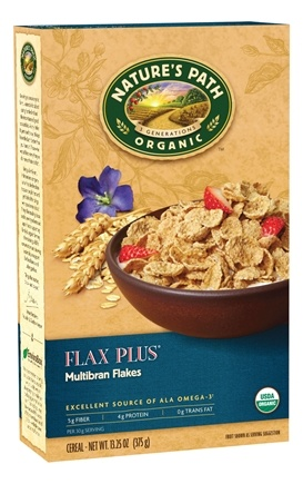 DROPPED: Nature's Path Organic - Cereal Flax Plus Multibran - 13.25 oz. CLEARANCE PRICED