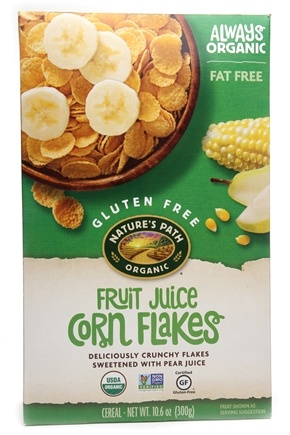 DROPPED: Nature's Path Organic - Cereal Corn Flakes Fruit Juice Sweetened - 10.6 oz. CLEARANCE PRICED