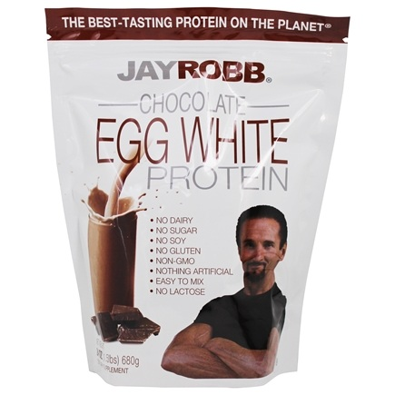Jay Robb - Egg White Protein Powder Chocolate - 24 oz.