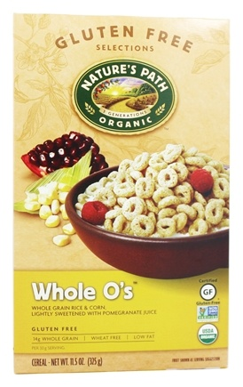 DROPPED: Nature's Path Organic - Cereal Whole O's Gluten-Free - 11.5 oz.