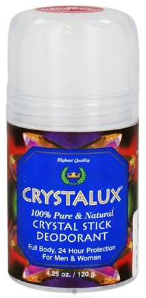 DROPPED: Crystalux - Crystal Stick Deodorant Push Up - 4.25 oz.