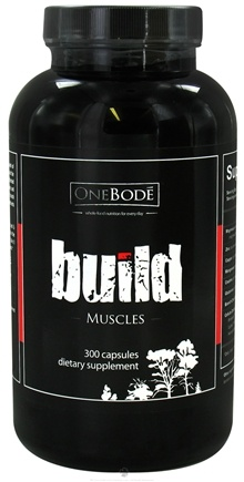 DROPPED: OneBode - Build Muscles - 300 Capsules CLEARANCE PRICED