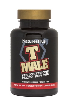Nature's Plus - T Male Testosterone Boost For Men - 60 Capsules