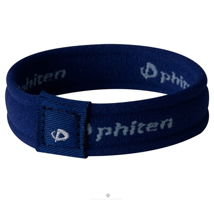 DROPPED: Phiten - Titanium Bracelet Star 6 inch Navy - CLEARANCE PRICED