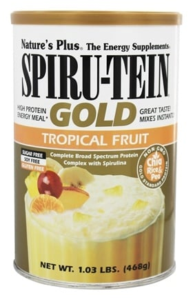 Zoom View - Spiru-Tein Gold High Protein Energy Meal Powder
