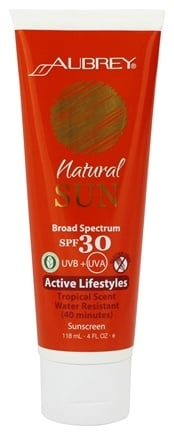 Zoom View - Natural Sun Sunscreen High Protection Active Lifestyles