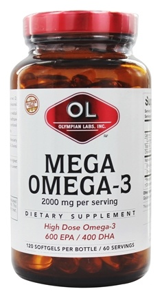 Zoom View - Mega Omega-3 Fish Oils
