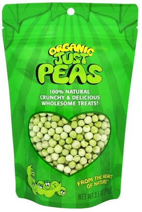 DROPPED: Just Tomatoes, Etc! - Organic Just Peas - 3.5 oz.