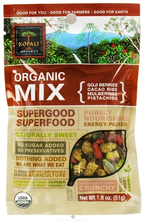 DROPPED: Kopali Organics - Organic Trail Mix Supergood Superfood - 1.8 oz.