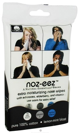 Zoom View - Noz-Eez Extra Moisturizing Nose Wipes