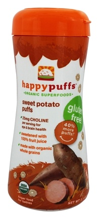 HappyFamily - HappyPuffs Organic SuperFoods Sweet Potato - 2.1 oz.