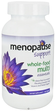 DROPPED: Pure Solutions - Menopause Support Whole-Food Multi Essentials - 180 Tablets CLEARANCE PRICED