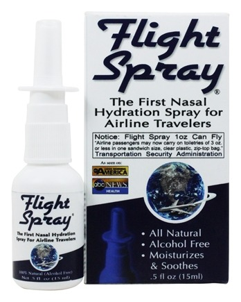 Zoom View - Nasal Hydration Spray for Airline Travelers