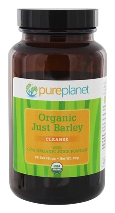 Pure Planet - Just Barley Organic Green Juice Powder - 2.8 oz.