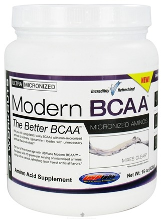 DROPPED: USP Labs - Modern BCAA Powder Ultra Micronized Amino Acid Supplement Grape Bubblegum - 15 oz. CLEARANCE PRICED