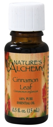 Nature's Alchemy - 100% Pure Essential Oil Cinnamon Leaf - 0.5 oz.