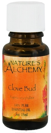 DROPPED: Nature's Alchemy - 100% Pure Essential Oil Clove Bud - 0.5 oz. CLEARANCE PRICED