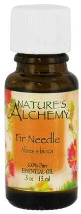 DROPPED: Nature's Alchemy - 100% Pure Essential Oil Fir Needle - 0.5 oz. CLEARANCE PRICED