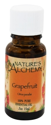 DROPPED: Nature's Alchemy - 100% Pure Essential Oil Grapefruit - 0.5 oz.