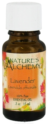 DROPPED: Nature's Alchemy - 100% Pure Essential Oil Lavender - 0.5 oz. CLEARANCE PRICED
